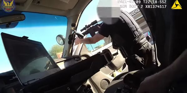 Phoenix PD Releases Video of Fatal OIS of Gunman Holding Baby