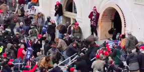Video Captures Rioters' Brutal Assault on Capitol Police Officer