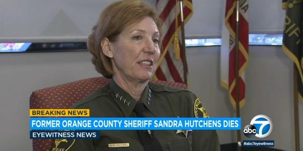 Sandra Hutchens served as Orange County, CA, sheriff from 2008 to 2019. (Photo: ABC7 Screen Shot)