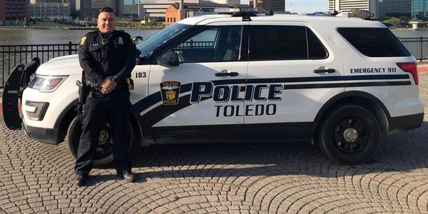 Toledo Police Officer Brandon Stalker was killed Monday during a standoff. (Photo: WTOL Screen...