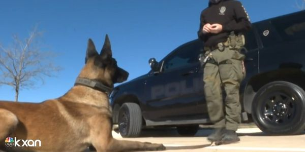 San Marcos, TX, Officer Stephen Sarver and K-9 Rex are credited with stopping a carjacking....