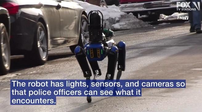 NYPD Tests Robotic Dog at Bronx Home Invasion Scene