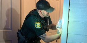 FL Deputy Repairs Woman's Door Breached During Service Call