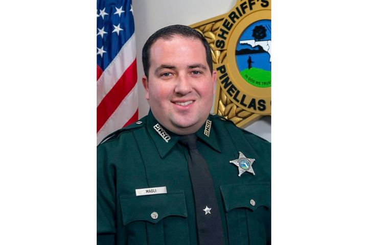 Pinellas County Sheriff's Deputy Michael Magli, 30, was killed Wednesday while trying to deploy spike strips. (Photo: Pinellas County SO) -