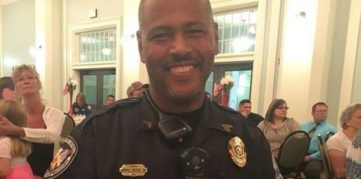 Lt. Michael Boutte of the Hancock County (MS) Sheriff's Office was killed Monday responding to a suicide call. (Photo: City of Diamondhead) -