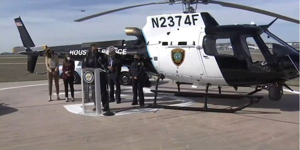 New Houston Police Helicopter Named for Officer Killed in 2020 Crash