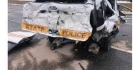 Illinois Trooper Seriously Injured During Crash Response