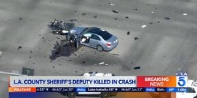 L.A. County Motor Deputy Killed in Crash