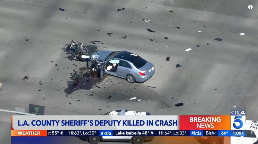 L.A. County Motor Deputy Killed in Crash