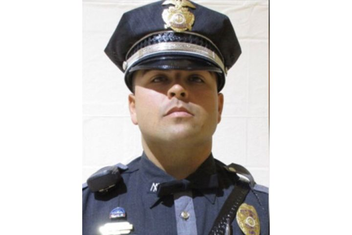 New Mexico State Police Officer Darian Jarrott was shot and killed at a traffic stop near Deming Thursday. (Photo: NMSP) -