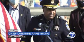Oakland Police Veteran Sworn in as City's New Chief