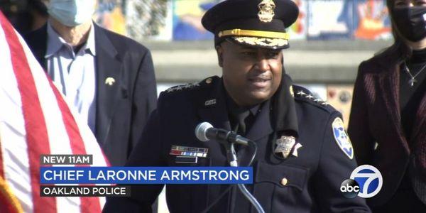 Oakland Police Veteran Sworn in as City's New Chief