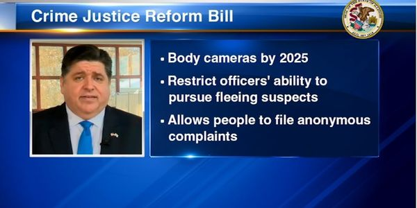 "IL Governor Signs ""Anti-Police Bill"" into Law"