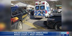 3 WV Deputies Injured, Their Vehicles Damaged in Pursuit of Stolen Ambulance