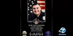 LAPD Officer Dies Days After Being Hit by Vehicle