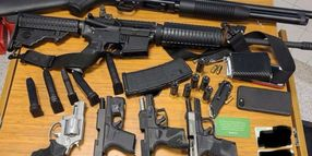 Man with 6 Guns and Body Armor Arrested at Atlanta Grocery Store