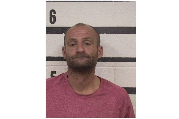 Authorities say William Sisk was captured on a surveillance camera attempting to burn the deputy's home. (Photo: Caldwell County SO) -