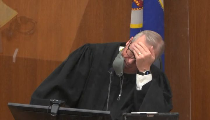 Hennepin County District Judge Peter Cahill in court Wednesday morning. (Photo: Court TV/Pool) -