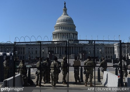 Capitol Police Want 60-Day Extension on National Guard Aid