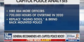 General's Report on DC Riot Says Capitol Police Need 884 More Officers