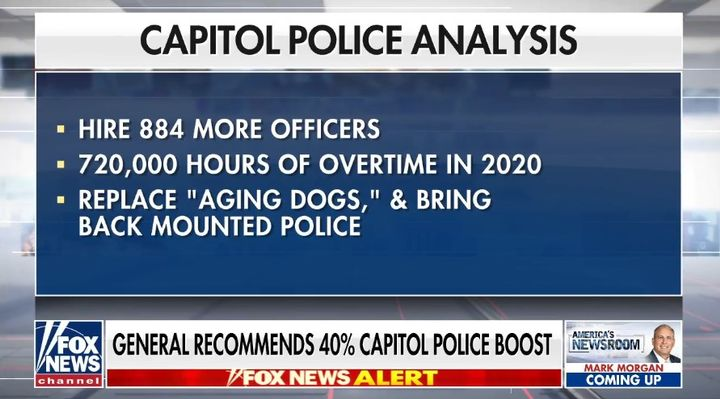 """Army Lt. Gen. Russell Honoré recommends the hiring of 886 more officers andthe establishment of a """"Quick Reaction Force"""" for the District of Columbia. (Photo: Fox News Screen Shot) -"""