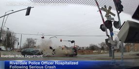 Illinois Officer Seriously Injured in Crash
