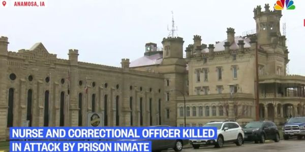 A corrections officer and a nurse were killed Tuesday inside Anamosa State Prison. (Photo: NBC...