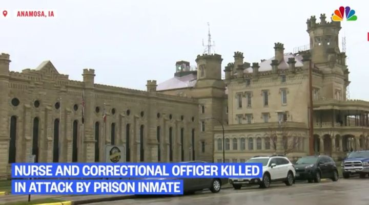 A corrections officer and a nurse were killed Tuesday inside Anamosa State Prison. (Photo: NBC News screen shot) -