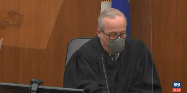 Hennepin County District Court Judge Peter A. Cahill, who is overseeing Derek Chauvin's trial,...