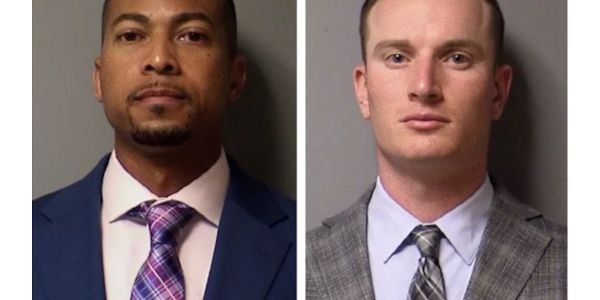 Former Williamson County sheriff's Deputies J.J. Johnson and Zach Camden are charged with...