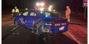 Tesla on Autopilot Wrecks Michigan State Police Car