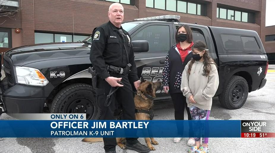 11-Year-Old Nebraska Girl Raised Money to Buy Body Armor for K-9