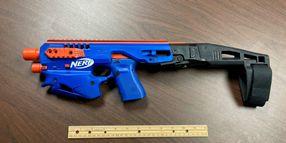 NC Investigators Find Glock Disguised as Nerf Gun During Drug Raid