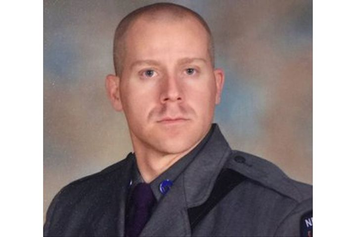 New York State Police Trooper Joseph Gallagher died Friday from injuries he suffered in 2017. (Photo: NYSP) -