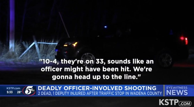 MN Officers Shot, Suspects Killed in Traffic Stop Gunfight