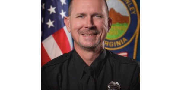 """Officer Dominic """"Nick"""" Winum, 48, of the Stanley (VA) Police Department was murdered Friday at a..."""
