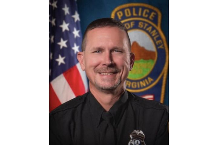 """Officer Dominic """"Nick"""" Winum, 48, of the Stanley (VA) Police Department was murdered Friday at a traffic stop. (Photo: Stanley PD) -"""