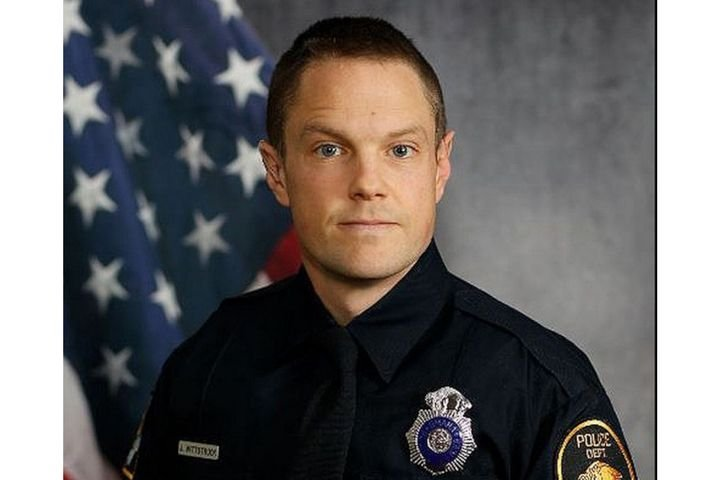Officer Jeffrey Wittstruck of the Omaha Police Department was shot in the face during a shoplifting call Friday. (Photo: Omaha PD) -