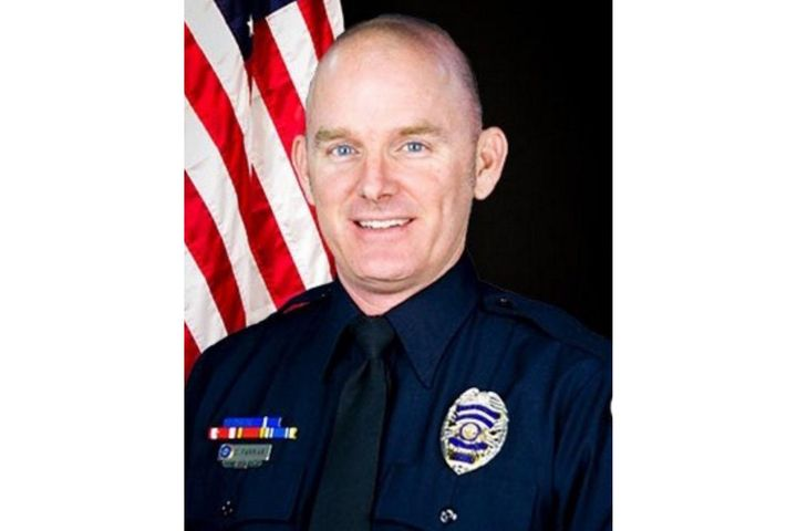 Officer Christopher Farrar of the Chandler (AZ) Police Department was struck and killed by a suspect driving a stolen vehicle on Thursday night. (Photo: Chandler PD) -