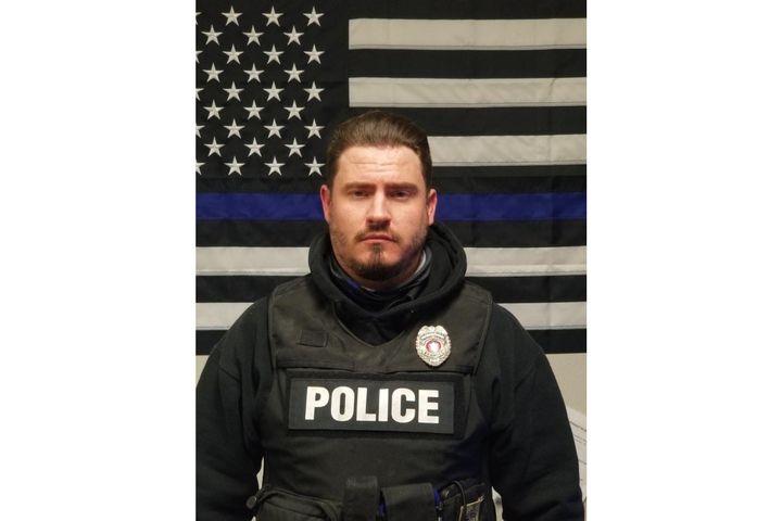 Bernice, OK, police officer Matt North died of an apparent heart attack. (Photo: Bernice PD/Facebook) -
