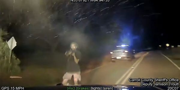Dashcam Video Shows Deadly Shootout at End of Georgia Pursuit