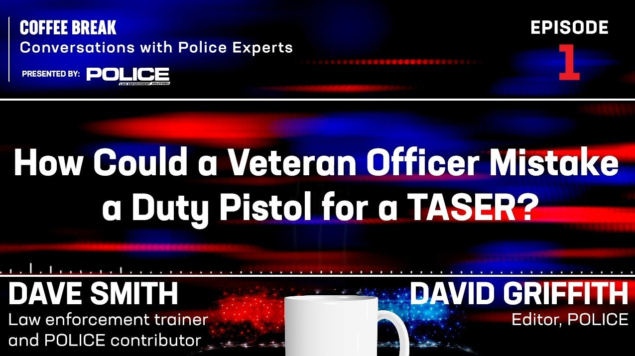 How Can a Veteran Officer Draw a Duty Pistol and Think It's a TASER?