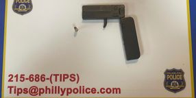 Philly Police Take Cell Phone Gun Off Repeat Offender