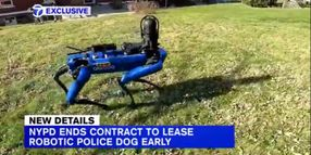 NYPD Ends Test of Robot Police Dog