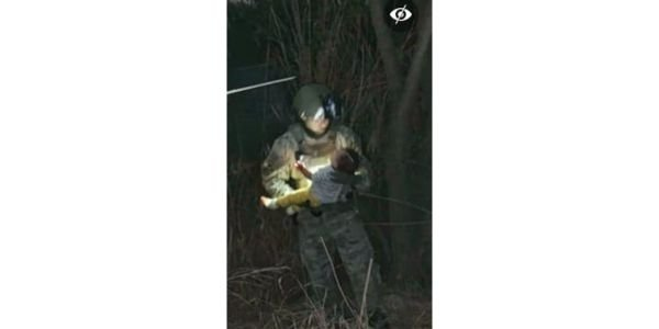 Texas DPS and Border Patrol officers rescued a baby girl from the Rio Grande after she was...