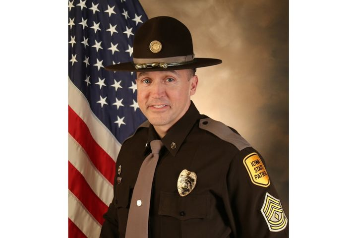 Sgt. Jim Smith of the Iowa State Patrol was shot and killed during a standoff Friday night. (Photo: ISP) -