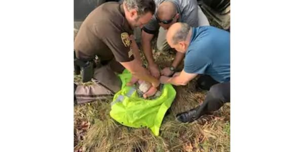 Deputies found the baby in the woods after interviewing his distraught mother. (Photo: Oakland...