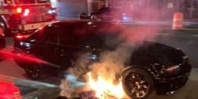 NYPD Officer's Personal Car Torched in Coney Island
