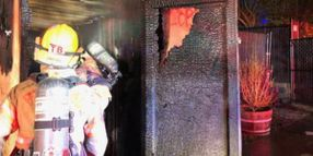 Portland Police Declare Riot, Union Building Set on Fire