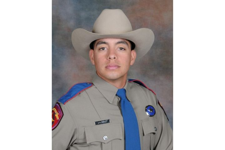 Trooper Juan Rojas Tovar was shot and wounded in pursuit of a workplace shooting suspect. (Photo: Texas DPS) -